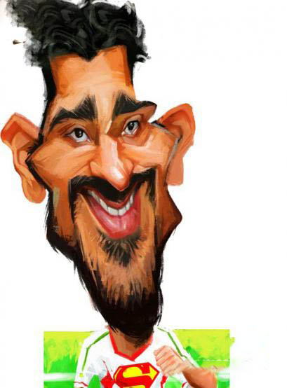 Cartoons-Iranian-footballers4