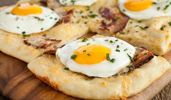 پیتزا نیمرو(مخصوص صبحانه)