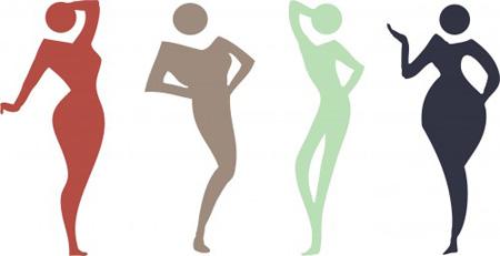 اشکال مختلف بدن|بهترین لباس برای انواع بدن