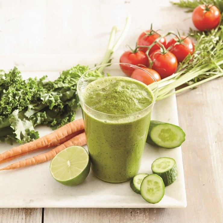 اسموتی سبزیجات,اسموتی سبزیجات