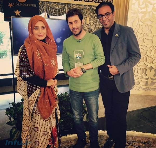 هومن حاج عبداللهی و صبا راد