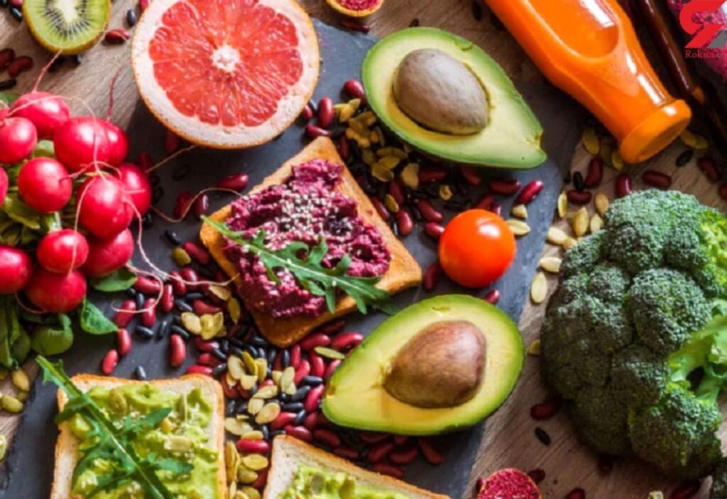 انواع مختلف رژیم غذایی وگان