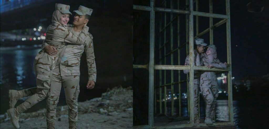 تو مصر سربازی رو اینجوری تبلیغ میکنن که جوونا پاشن برن خدمت:)))
